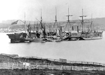 Great Eastern at Heart's Content, 1866