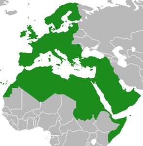 Map of Eurabia
